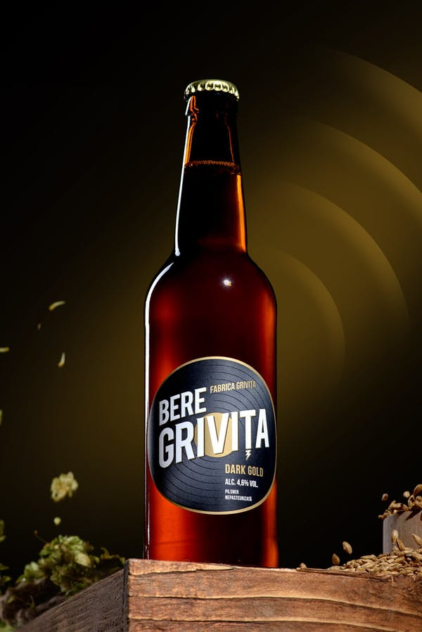 Dark Gold - Fabrica Grivita