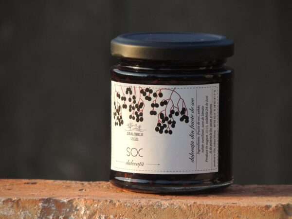 Dulceata fructe de soc - Dealurile Uilei